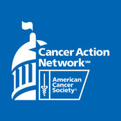 Logo for the American Cancer Society Cancer Action Network looking at patient advocacy