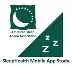 logo of the American Sleep Apnea Association and app study